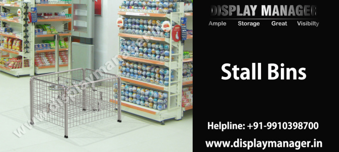 Stall Bins – Impeccable Display and Storage Product
