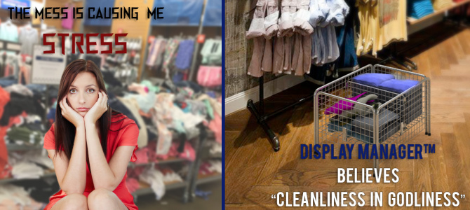 "Display ManagerTM believes ""Cleanliness in Godliness""."