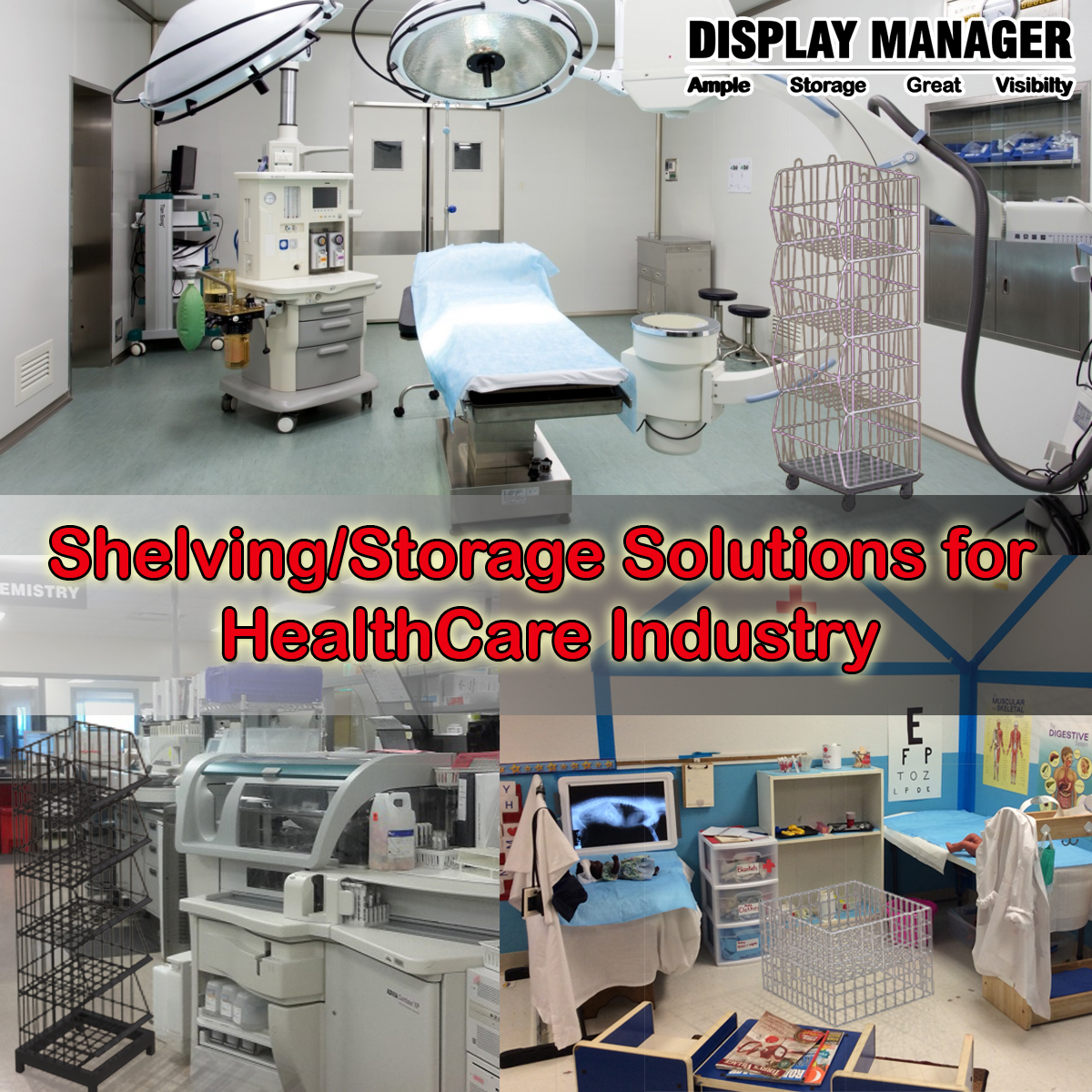 ShelvingStorage Solutions for HealthCare Industry