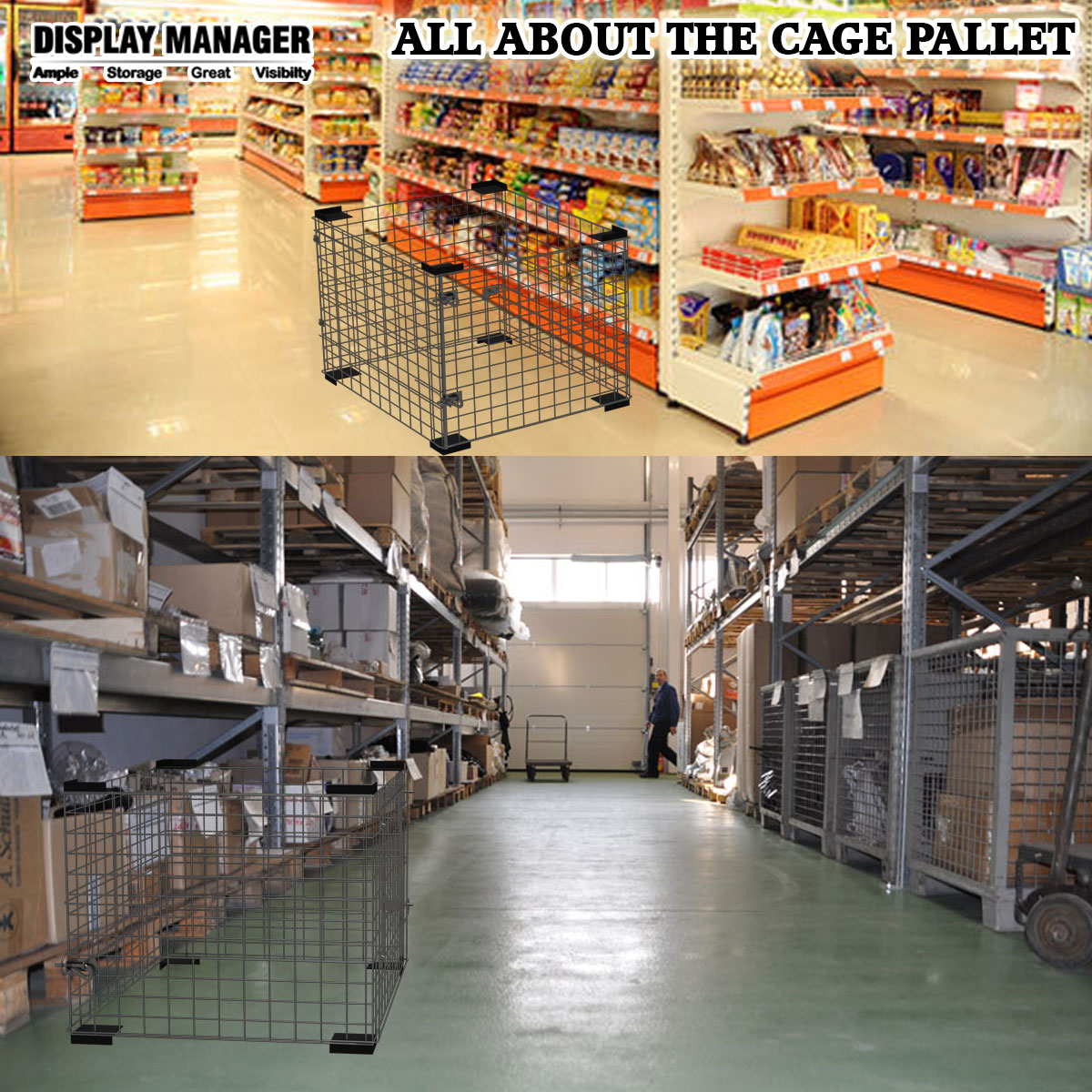 ALL ABOUT THE CAGE PALLET
